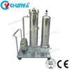 Stainless Steel Polished Sanitary Purifier Cartridge Filter with Vacuum Pump
