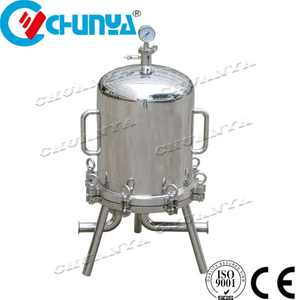 China Stainless Steel Wine Membrane Filter Beer Lenticular Filter Housing