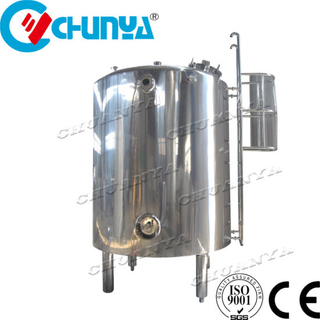 Stainless Steel Industrial Mobile Storage Tank