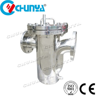 Stainless Steel Basket Type Filter Housing for Waste Water Stystem