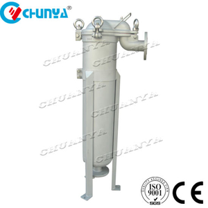 Industrial RO Water System Filter Top Entry Bag Filter Housing
