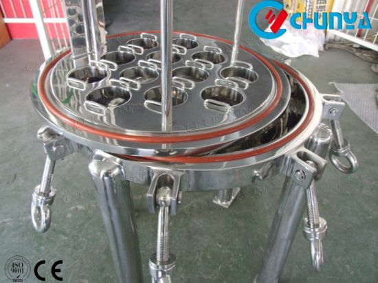 China Manufacturer Industrial Customized Stainless Steel Multi Cartridge Filter