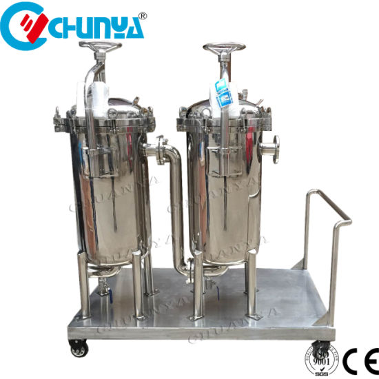 Multi Stage Bag Filter Housing for Chemical and Oil Filtration