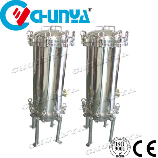 China Manufacturer Cartridge Filter Vessel with SUS304 SUS316L