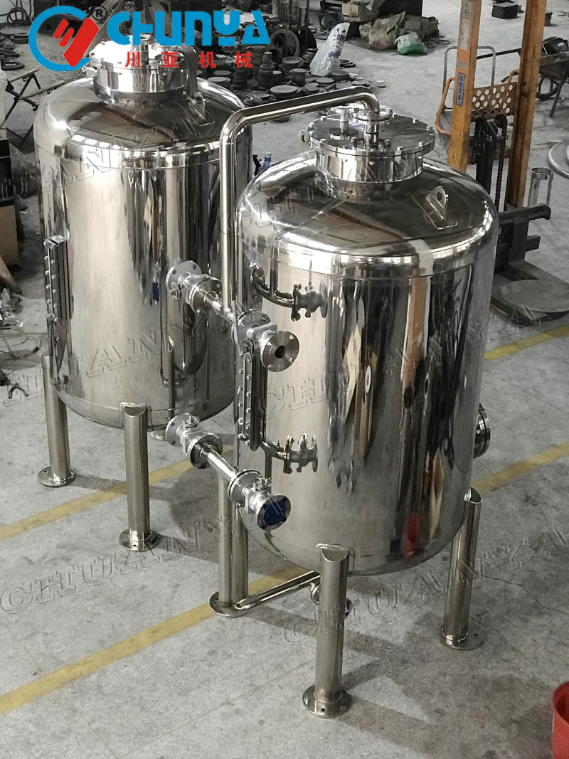 How to Clean stainless steel liquid tank?