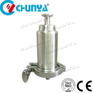 Industrial Valve Sanitary Y-Type Stainless Steel Strainer Tube Water Filter Housing for Oil