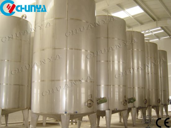 Stainless Steel Polished Mixing Soaking Tank