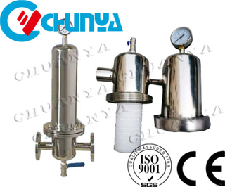Wholesale 316L Stainless Steel Gas Air Filter Housing for Water Purifier Treatment Machine