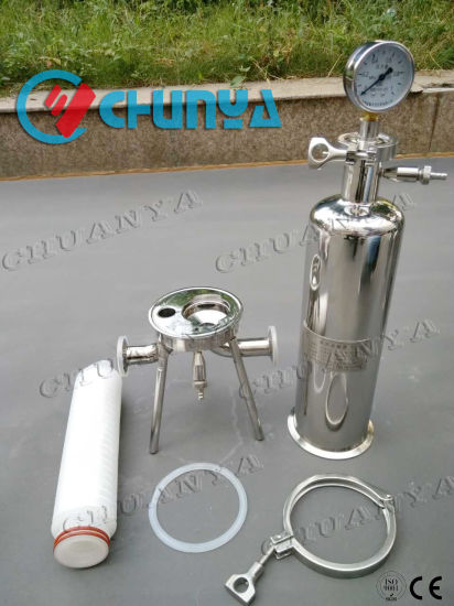 Stainless Steel Cartridge Filter Housing Water Treatment