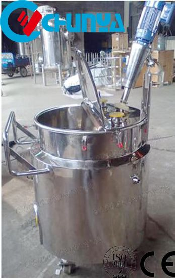 China 1000L Jacketed Heated Heating Stainless Steel Juice Wine Beer Food Mixing Agitator Tank