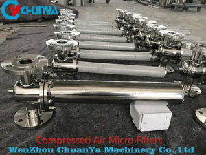 High Quality Stainless Steel Polished Air Steam Cartridge Filters