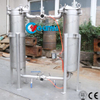 Stainless Steel Water Duplex Parallel Bag Filter Housing