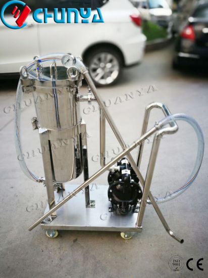 Stainless Steel Customized Bag Filter Housing with Pump