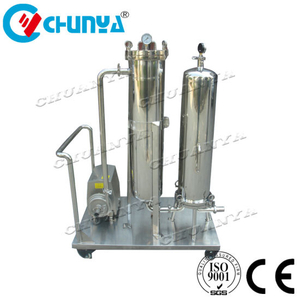 Industrial Customized Cartridge Filter Housing with Pump