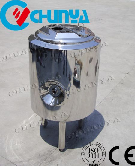High Quality Stainless Steel Mobile Storage Tank