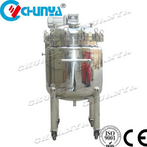 Food Grade Stainless Steel Movable Mixing Tank