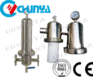 High Quality China Wholesale Stainless Steel Polished Air Steam Cartridge Filters
