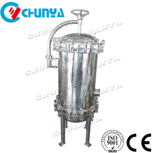 "Stainless Steel SS304 316L Precision Liquid Beer Wine Milk 10"" 30inch PP PTFE Multi Cartridge Water Filter Housing"